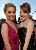 Emma Stone strahlt bei SAG-Awards