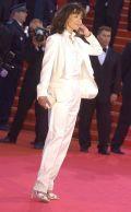 Sophie Marceaus weiße Eleganz
