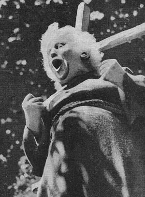 "Studie aus dem C. Th. Dreyer Film ""Tage des Zornes""."