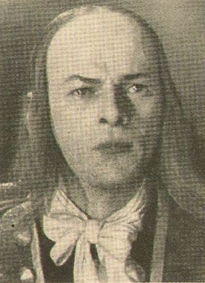 Nikolai Cherkasov als Peter, der Erste.