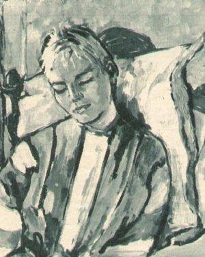 Lilli Palmers Ölporträt von Susanne Cramer.