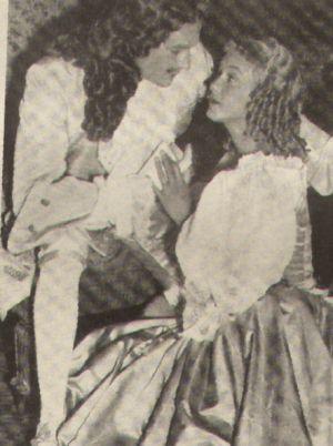 Ludwig XIV. (Georges Marchal) mit seiner Geliebten Lavallière (Gisèle Pascal)