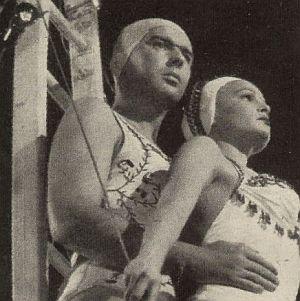 Eva Bartok und Bernhard Wicki