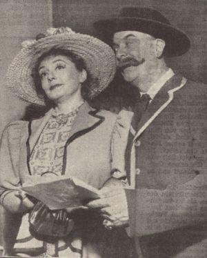 Zarah Leander mit Karl Gerhard