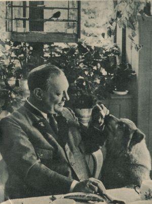 Tierfreund Emil Jannings