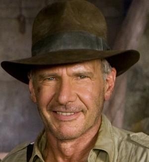 """Harrison Ford am Set von """"Indiana Jones und das Königreich des Kristallschädels"""""""