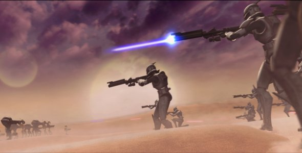 Star Wars: The Clone Wars - Die komplette vierte Staffel