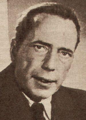 Humphrey Bogart als paranoider Kapitän Van Johnson