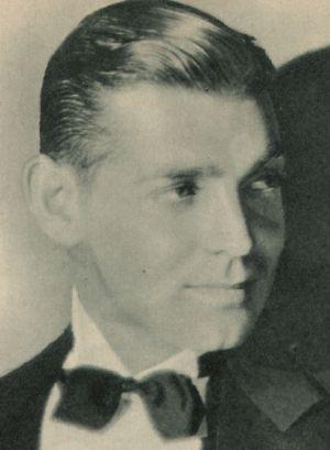Clark Gable im Smoking