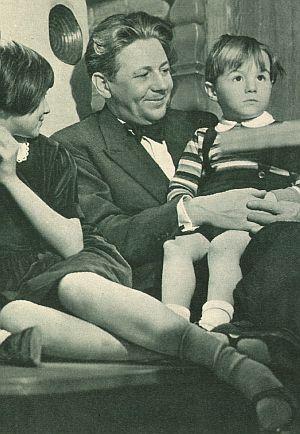 Christl, Paul und Thomas Hörbiger