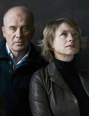 """Corinna Harfouch und Hanns Zischler in """"Im Winter ein Jahr"""""""