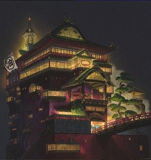 Szene aus: Chihiros Reise ins Zauberland