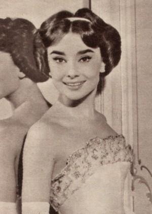 Audrey Hepburn als Ariane