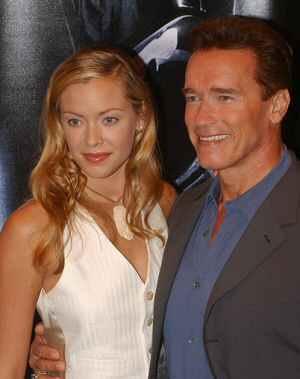 Kristanna Loken und Arnold Schwarzenegger auf der T3-Premiere