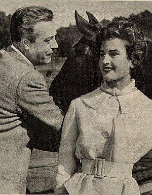 Angelika Meissner und Wolf Albach-Retty in Hubertusjagd