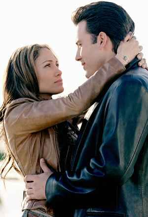 Jennifer Lopez mit Ben Affleck in: Liebe mit Risiko ? Gigli