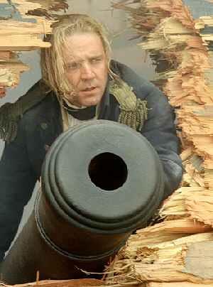 Kapitän Russell Crowe in: Master & Commander - Bis ans Ende der Welt