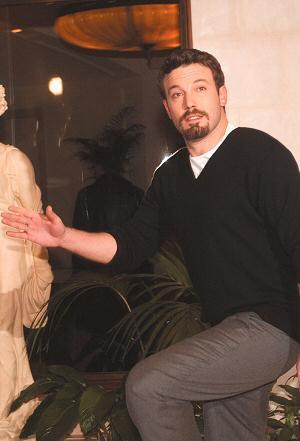 Ben Affleck in Berlin auf Promotour