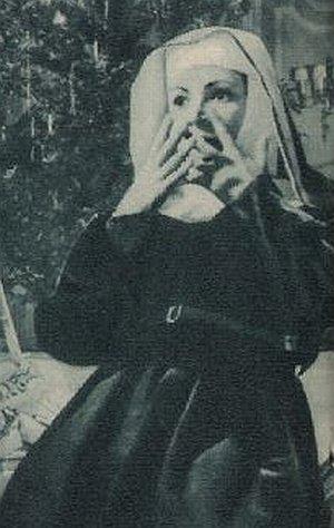 Ruth Leuwerik als Novizin Maria