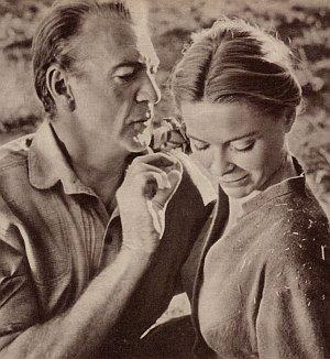 Gary Cooper und Dorothy McGuire