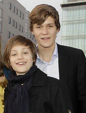 Nick Romeo Reimann und Fabian Halbig
