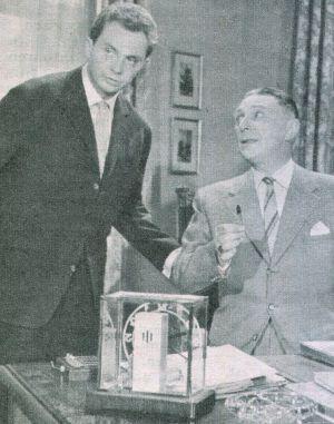 Billy (Harald Juhnke), Wieler (Theo Lingen)