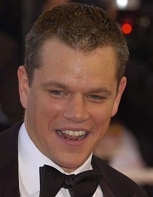 Matt Damon mit schwarzer Fliege (Cannes 2007)