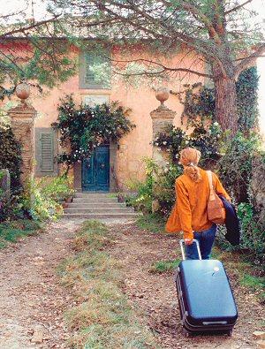 Diane Lane in der sonnigen Toskana