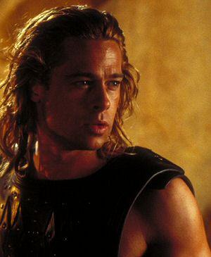 Brad Pitt in Wolfgang Petersens: Troja