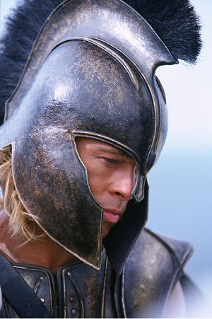 Körperkult ohne antiken Touch: Brad Pitt