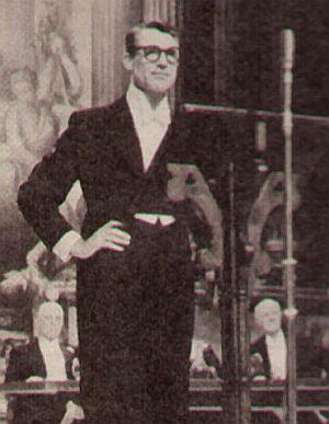 "Cary Grant als ewiger Junggeselle in ""Indiskret"""