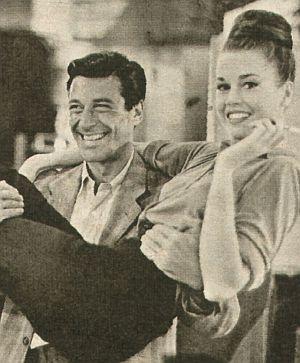 """Geheilt und neu verliebt: Ephrem Zimbalist Jr. und Jane Fonda in """"Der Chapman-Report"""""""