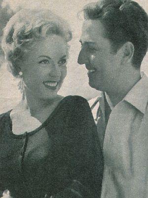 """Eva Kerbler und Vico Torriani in """"Santa Lucia"""""""