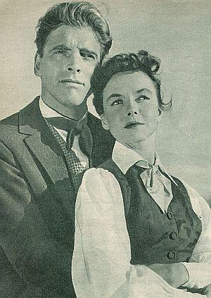 """Burt Lancaster und Diana Lynn in """"Der Mann aus Kentucky"""""""