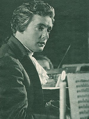 Oskar Werner mimt den österreichischen Komponisten