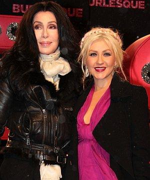 Christina Aguilera und Cher lieben Musik und Filme