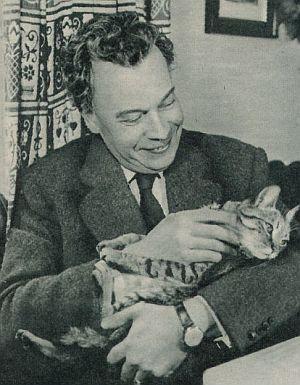 Katzenfreund Ewald Balser