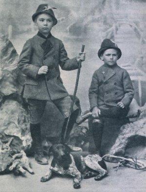 O.W. Fischer und sein Bruder Franz