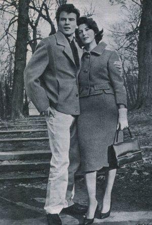Horst Buchholz und Myriam Buchholz Bru