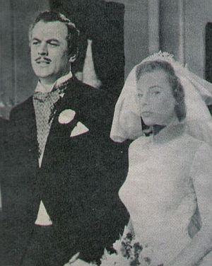 """Jacques Scott und June Allyson in """"Ohne Liebe geht es nicht"""""""