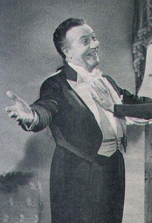 Willy Fritsch als Kapellmeister Alexander Korty