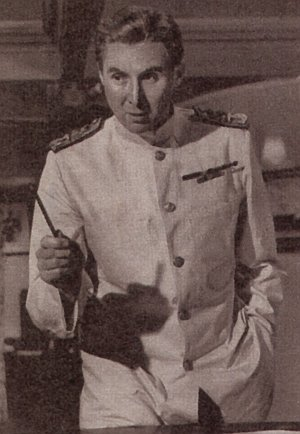 """Anthony Quayle in """"Panzerschiff Graf Spee"""""""