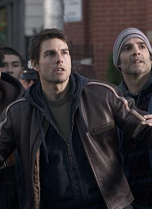 Tom Cruise im Angesicht des Alien-Schreckens