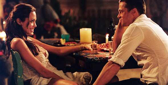 Mr and mrs smith sex scene