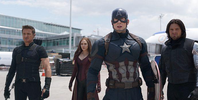 The First Avenger: Civil War 3D
