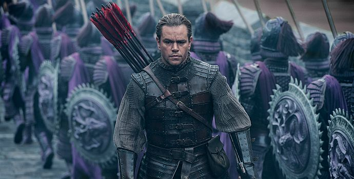 The Great Wall (4K Ultra HD + Blu-ray + UltraViolet)