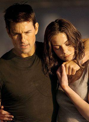 Tom Cruise und Michelle Monaghan intim...