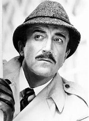 Peter Sellers als Inspektor Clouseau