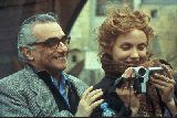 Martin Scorsese mit Cameron Diaz am Set von The Gangs of New York