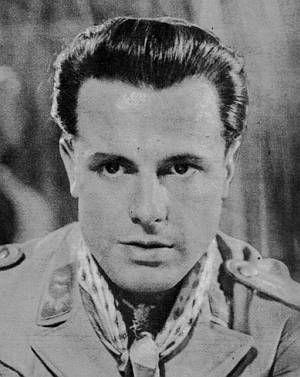 """Joachim Hansen in """"Stern von Afrika""""."""